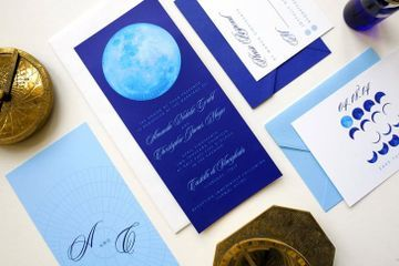 Zodiac-Themed Wedding Stationery Will Make You Thank Your Lucky Stars