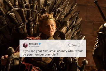 If you were in charge, what rule would you make? (14 GIFS)