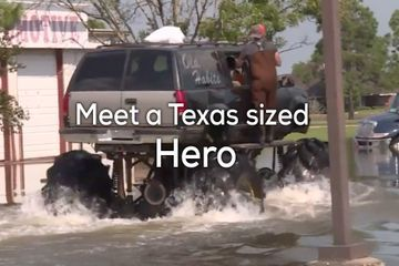 Monster Truck angel helping flood victims will MAKE YOUR DAY (13 GIFs/Video)
