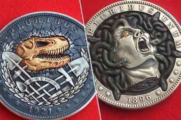 Russian artist creates amazing engraved 'hobo coins' (22 Photos)