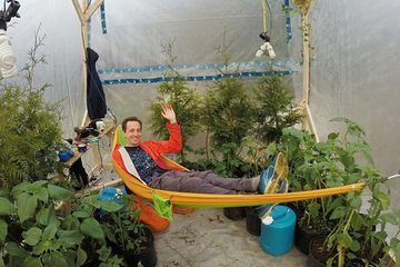 'Whimsical scientist' seals himself inside greenhouse for climate change experiment (Video)