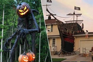 Halloween decorations so impressive they should stay up all year (32 Photos)