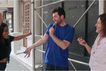 Billy Eichner and Tiffany Haddish Go on History's Most Hilarious Witch Hunt in NYC
