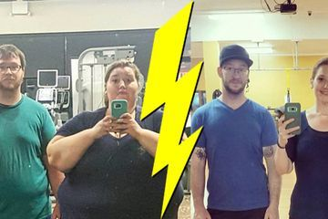 Amazing people who gave more to weigh less (40 Photos)