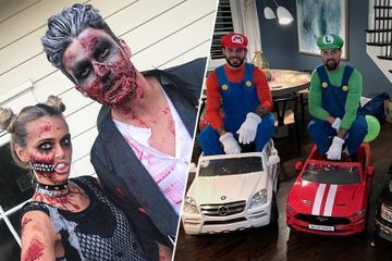 It's almost Halloween and these NHL players showed up to play (44 Photos)