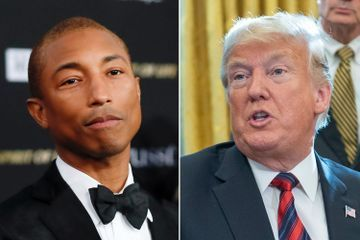 Pharrell not 'Happy' about Trump playing his song after synagogue shooting