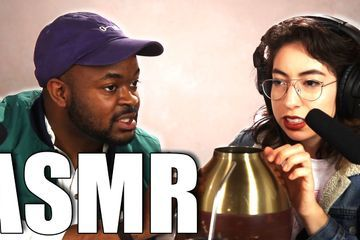We Tried Doing ASMR For The First Time