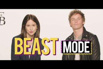 Its Been A Minute With Eddie Redmayne And Katherine Waterston Presented By Fantastic Beasts