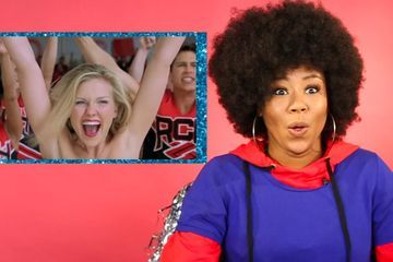 Professional Cheerleader Reviews Iconic Cheer Scenes