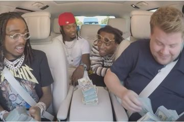 "James Corden Gets ""Bad and Boujee"" With Migos in the Latest Edition of Carpool Karaoke"