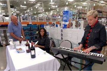 Michelle Obama and Ellen DeGeneres Went to Costco Together, 'Cause That's What Friends Do