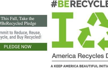 Make this the last America Recycles Day; it's time to celebrate zero waste and ban single-use plastics.