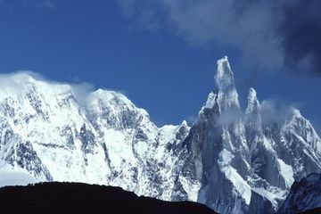 Photo: Cerro Torre rises to the sky