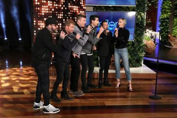 Emily Blunt Sang a Surprise Duet With Backstreet Boys, and We're Completely Blown Away