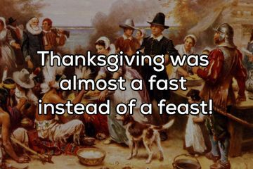 A heavy helping of Thanksgiving facts to impress at the dinner table (18 Photos)