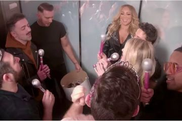 Mariah Carey Sang Karaoke With Fans in an Elevator, and We Regret Taking the Stairs Today