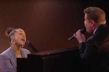 "Alicia Keys and James Corden Hit ALL the Right Notes During Their ""Shallow"" Parody Cover"