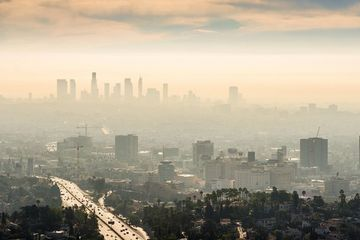 China is polluting California's air