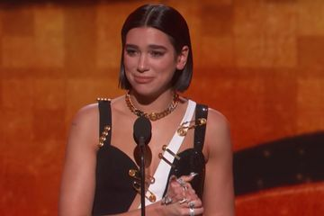 Dua Lipa Called Out Recording Academy President's Sexist Remarks in Her Acceptance Speech
