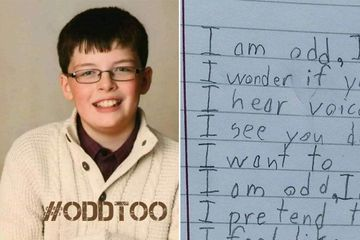 Boy with autism turns an assignment into heart-wrenching poem (11 Photos and GIFs)