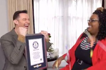 Hugh Jackman, Man of Many Talents, Is THRILLED With His Guinness World Record