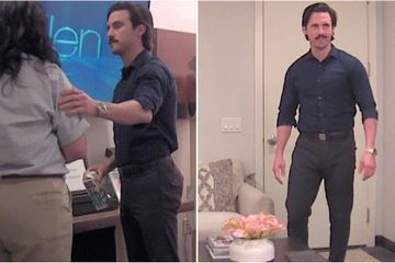 Ellen Tried to Prank Milo Ventimiglia, and I Have Secondhand Embarrassment Just Watching