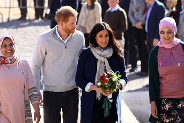 Meghan and Harry Head to the Mountains For the Second Day of Their Royal Tour