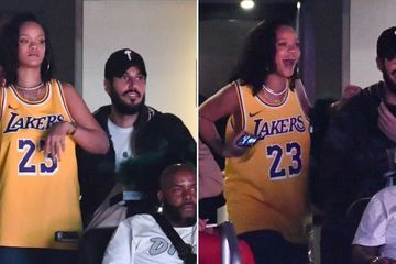 Rihanna Has Love and Basketball on the Brain at a Lakers Game With Her Hot Boyfriend