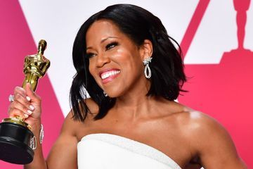"Regina King Talks About Her Full-Circle Oscars Moment: ""My Mom Was Like the Lighthouse"""
