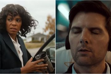 Adam Scott, Sanaa Lathan, and More Star in the Spooky Trailer For The Twilight Zone