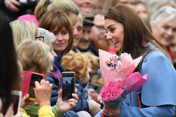 Kate and William Are Showered With Flowers During Their Second Day in Northern Ireland