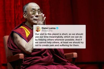 The Dalai Lama really knows how to use this whole Twitter thing (18 Photos)