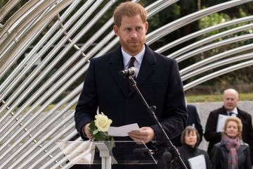 Prince Harry Makes a Somber Appearance as He Pays Tribute to Victims of Tunisia Attacks