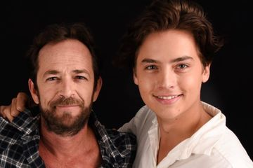"Cole Sprouse Reflects on Working With Riverdale Costar Luke Perry: ""He Was Well-Loved"""