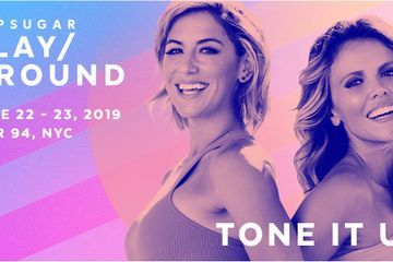 Tone It Up's Katrina and Karena Will Make You Sweat at POPSUGAR Play/Ground