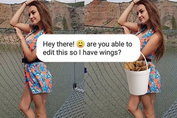 You get what you ask for when James Fridman photoshops you (27 Photos)