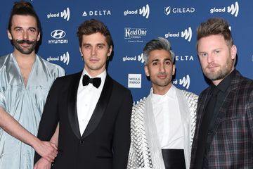 We're Giving Snaps For the Queer Eye Cast's Fun-Filled Night at the GLAAD Media Awards