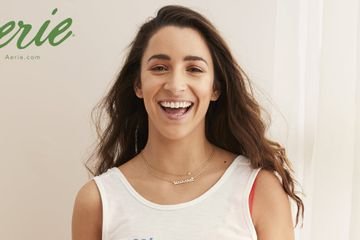 """Try to Speak Your Truth"": Aly Raisman Wants to Empower People With Her New Aerie Collection"