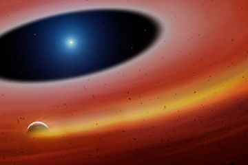 Apocalypse Next? Astronomers Find a Chunk of Planet Around a Distant, Dead Star