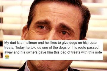 Dog passes away & mailman gets a heartwarming letter from her owner (5 Photos)