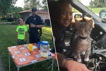 No clever title here, just some cops being real good dudes (29 Photos)