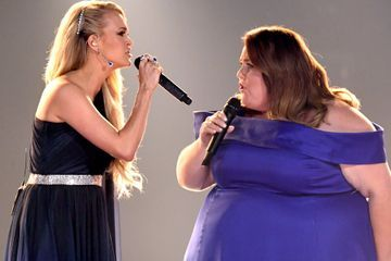 This Is Us Star Chrissy Metz Sang Live at the ACMs With Carrie Underwood, and It Was STUNNING