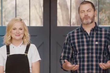 Amy Poehler and Nick Offerman Celebrate Parks and Rec's 10th Anniversary With a Sweet Video