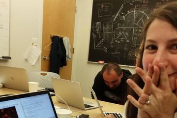 How Katie Bouman Accidentally Became the Face of the Black Hole Project
