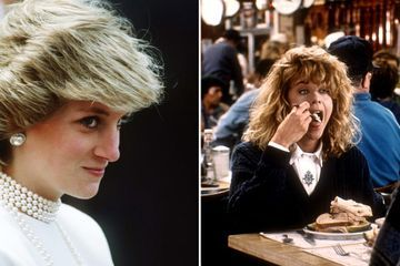 Fun Fact: Princess Diana Got a Pretty Big Kick Out of That When Harry Met Sally Deli Scene