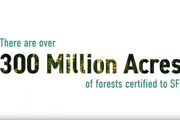Forest sustainability by the acre: 300M+ certified to SFI