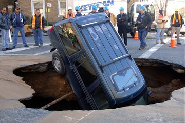 Frightening Facts About Sinkholes