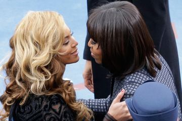 "Beyoncé Praises ""Portrait of Grace"" Michelle Obama in the Annual Time 100 Issue"