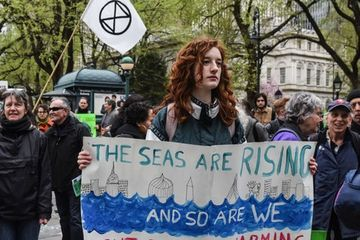 Extinction Rebellion spreads to North America