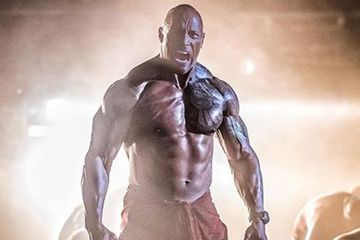 Holy Muscles! Is It Just Me, or Did Dwayne Johnson's Biceps Suddenly Get Way Bigger?